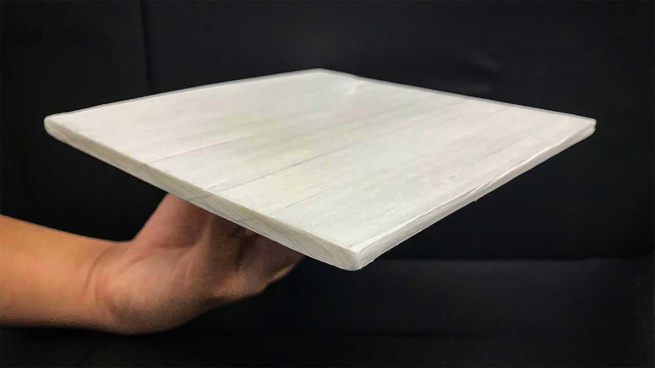 Создан деревянный материал с обогревательными свойствами