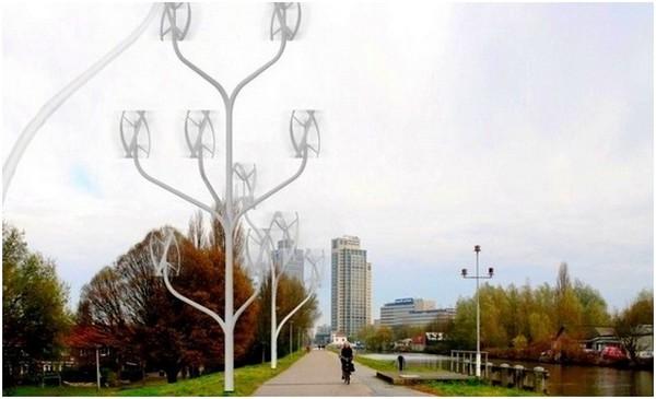 Созданы деревья, способные генерировать энергию из вибраций, возникающих в городе