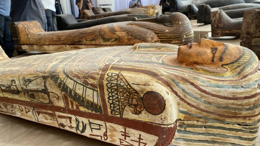 В Египте найдены деревянные саркофаги времен Нового царства