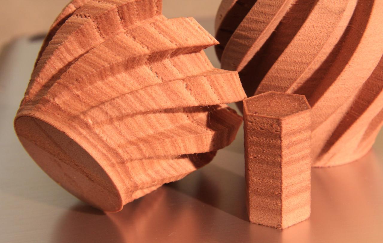 На 3D-принтере печатаем деревянные изделия