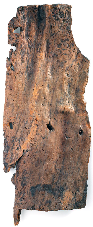 Доисторическая дверь из дерева
