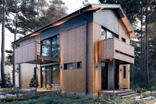 Кредит на строительство дома можно получить благодаря типовому проекту