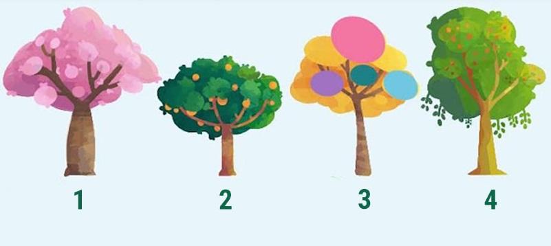 Тест: выберите дерево и узнаете, успешную черту вашего характера