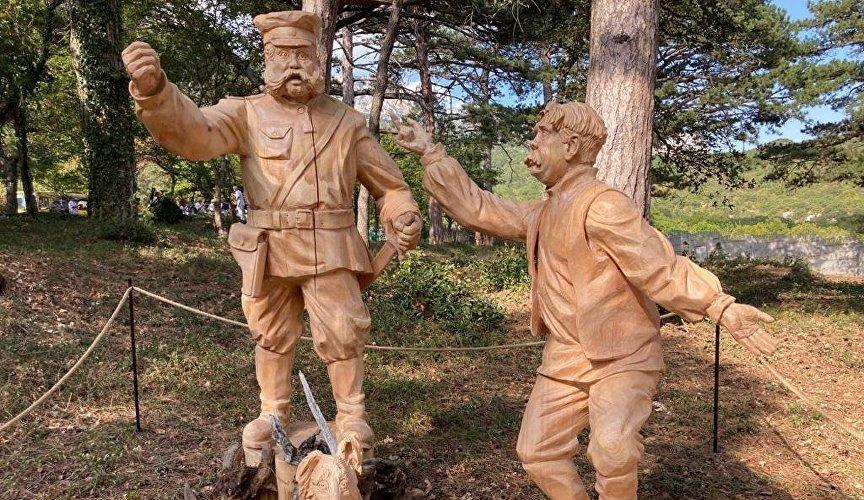 Летом 2021 года на крымской территории будет проведен фестиваль деревянной садовой скульптуры